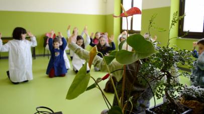 Laboratorio in una scuola primaria - Subiaco (RM)