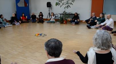"Workshop tenuto a Torino durante il Festival ""Culture Indigene di Pace"""